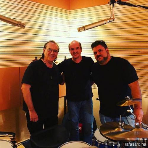 After Hours studio Vinnie Colaiutta and Rafa Sardina