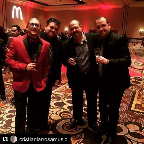 Cristian Larrosa, Dan Warner, Jose Domenech