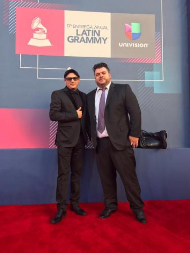 Latin Grammy 2016 with Cristian Larrosa